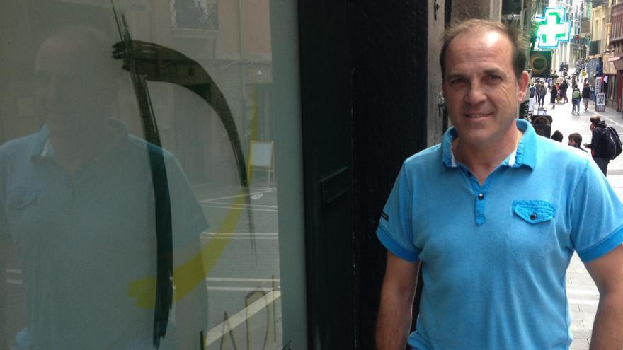 El presidente de la Asociación de Diabéticos de Navarra, Juantxo Remón.