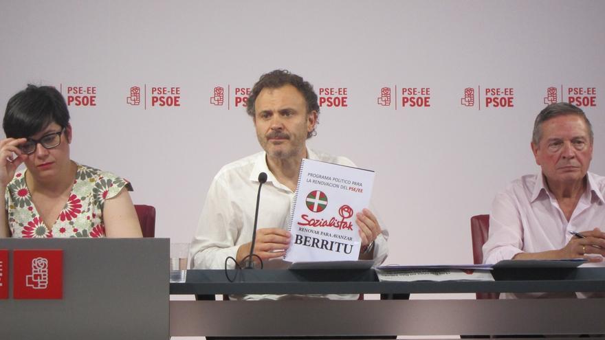 """Unai Ortuzar pide a Odón Elorza el apoyo a su candidatura para poder """"resetear"""" el PSE-EE"""