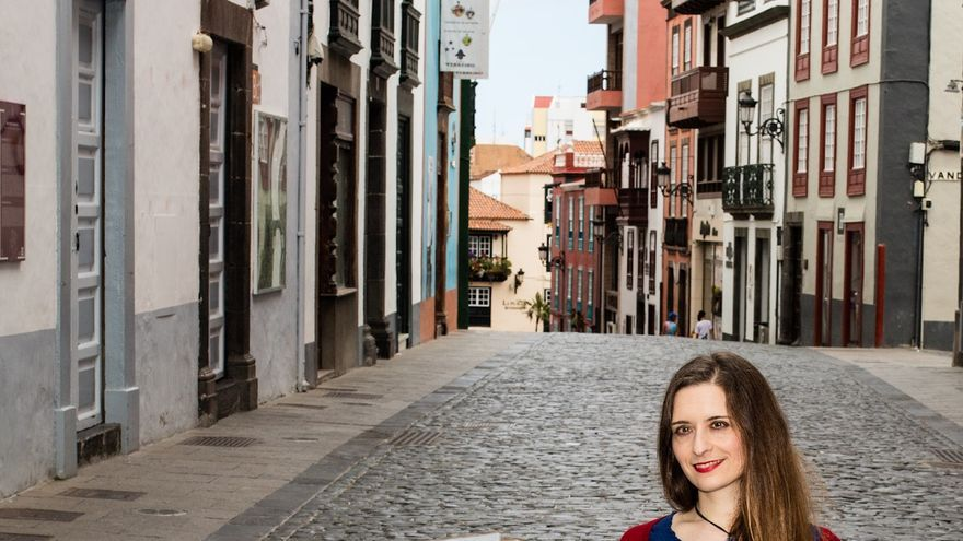 Belén Lorenzo en la Calle Real.