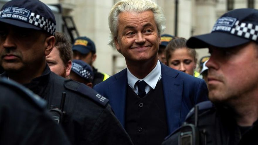 Wilders organiza un concurso de caricaturas de Mahoma en el Parlamento holandés