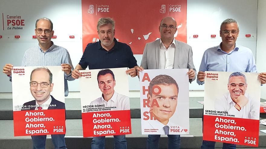 Presentación de la campaña del PSOE en La Palma.