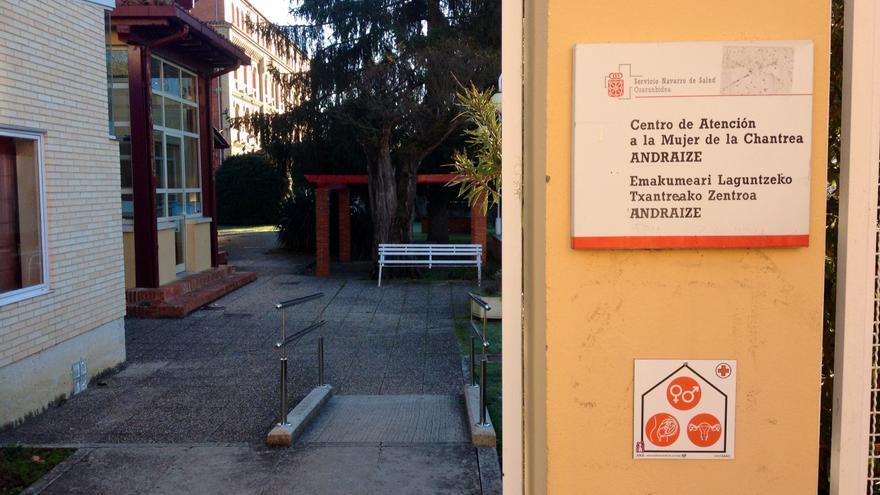 El centro Andraize ubicado en Orvina, en el barrio pamplonés de la Chantrea.