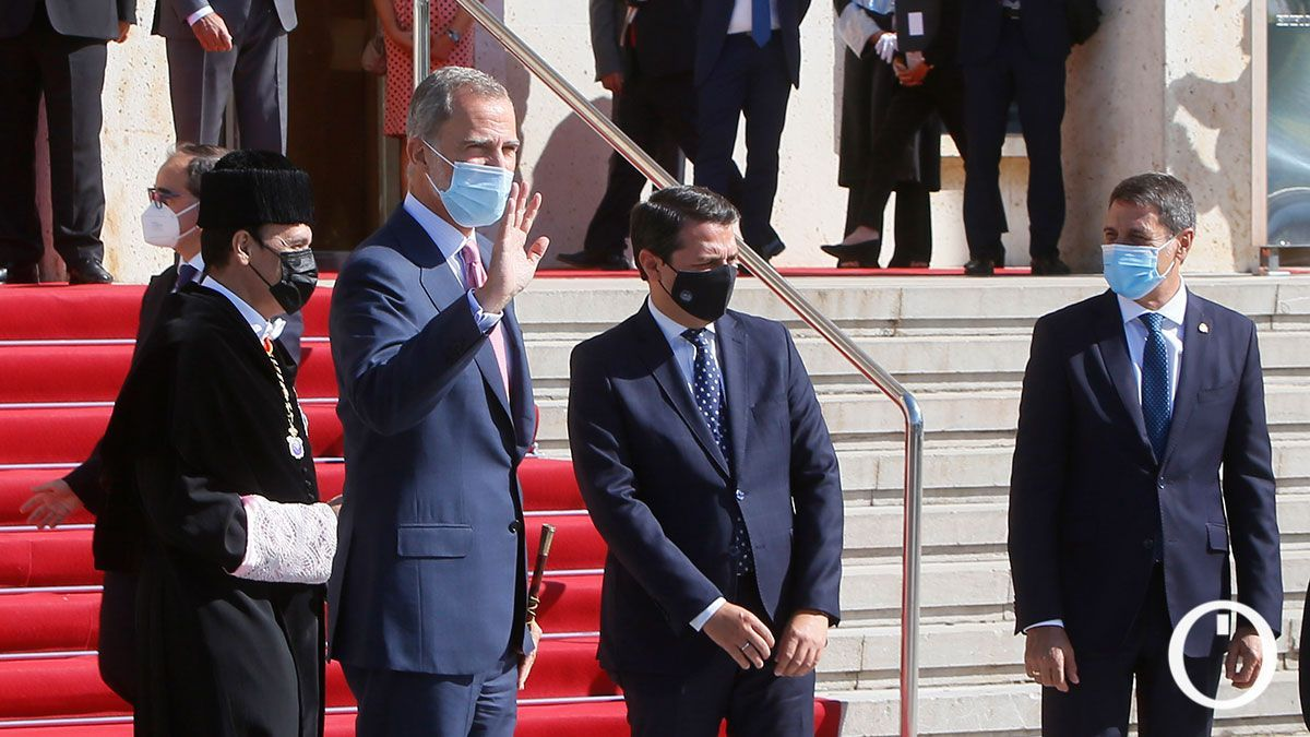 El Rey Felipe VI asiste a la apertura del curso universitario de la UCO