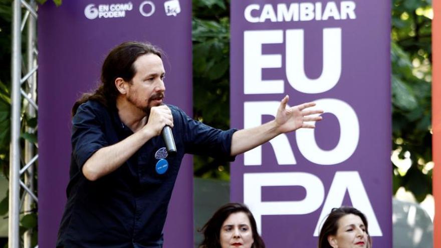 Iglesias pide el voto el 26M para estar fuerte en la negociación del gobierno