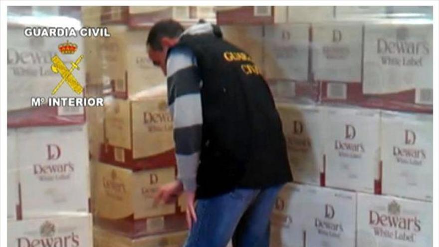 Recuperados 27.000 litros de whisky robados en una nave de Arganda (Madrid)