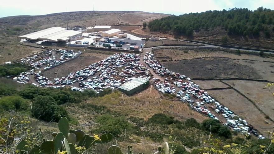 Desguace y punto limpio de Honduras-El Majano en El Hierro