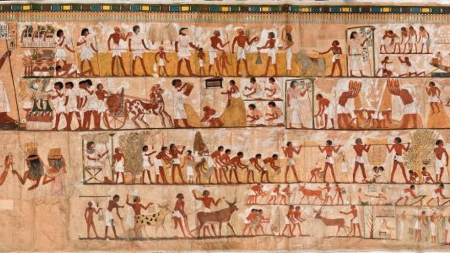 La tumba de Menna podría ser un antecedente antiguo del cómic moderno.