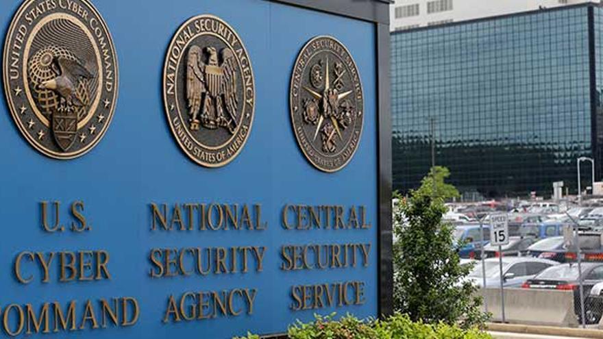 El edificio de la NSA