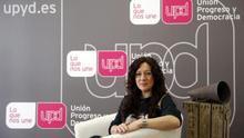 La coordinadora territorial de UPyD en la Comunitat Valenciana, Alicia Andújar