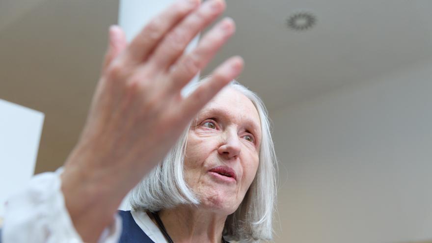 La catedrática de Sociología en la Universidad de Columbia en Nueva York y Premio Príncipe de Asturias Saskia Sassen.