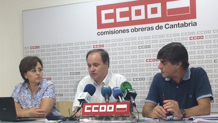 Los empleados públicos de la AGE en Cantabria se redujeron en los últimos cinco años un 7,2%, según denuncia CC.OO