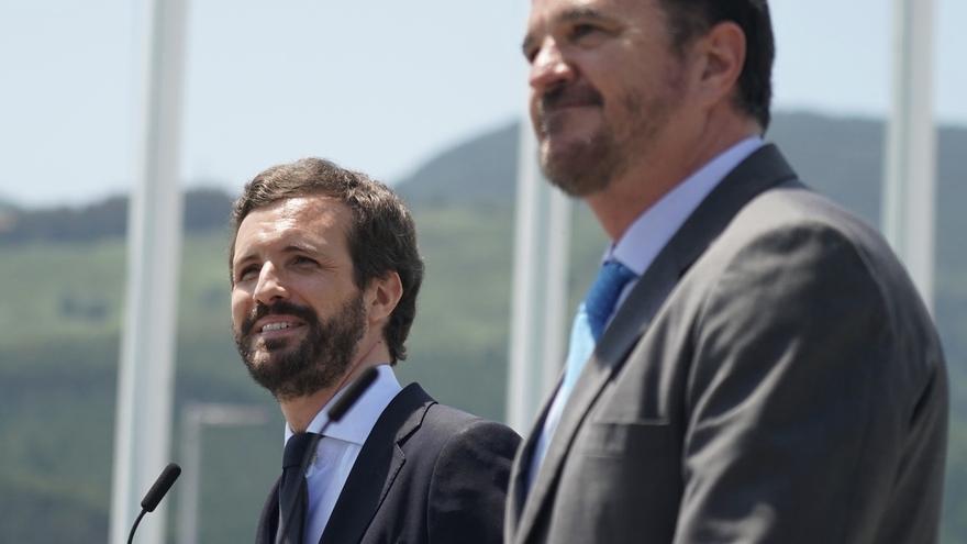 Casado e Iturgaiz planean cerrar la campaña vasca en Ermua, que rememora el simbolismo de Miguel Ángel Blanco