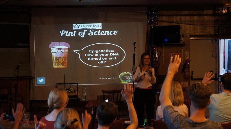 Pint of science se inició en Londres y se ha extendido por numerosos países europeos.