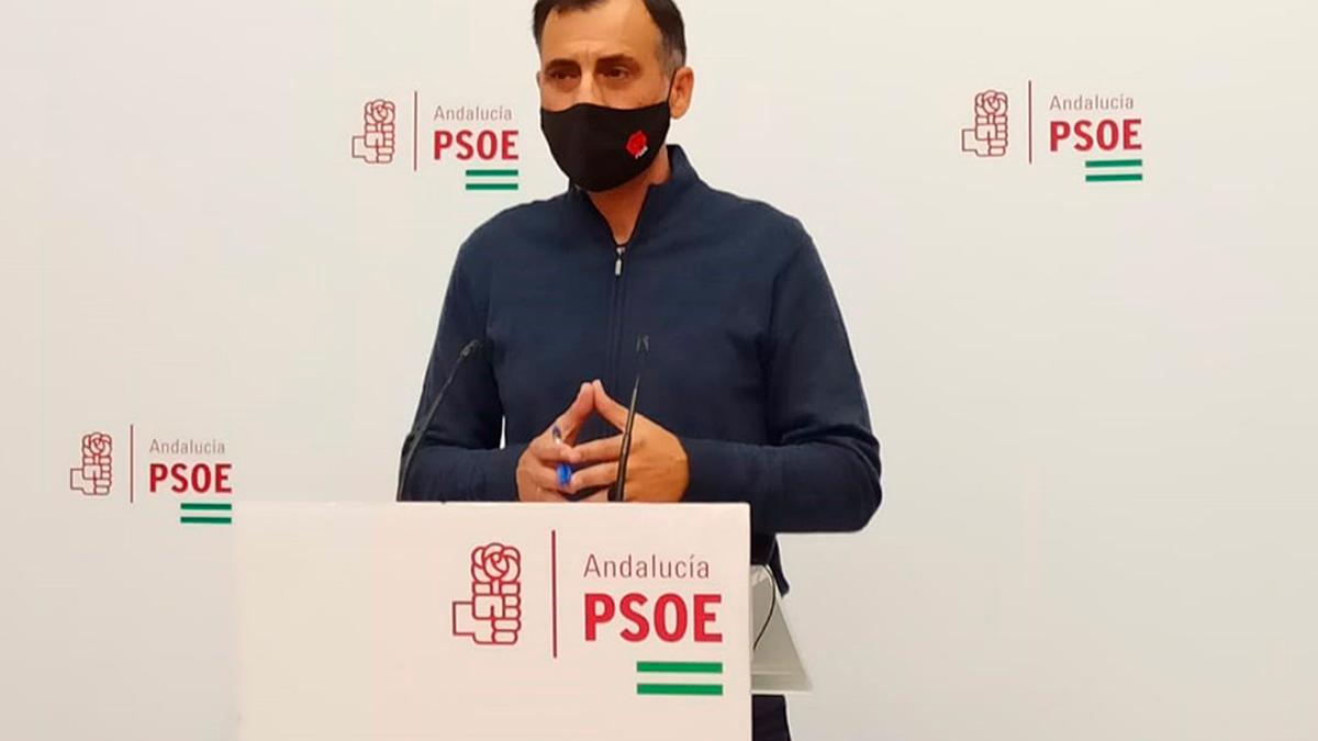 El portavoz del PSOE en la Comisión de Seguridad Social del Senado, el cordobés Alfonso Muñoz.