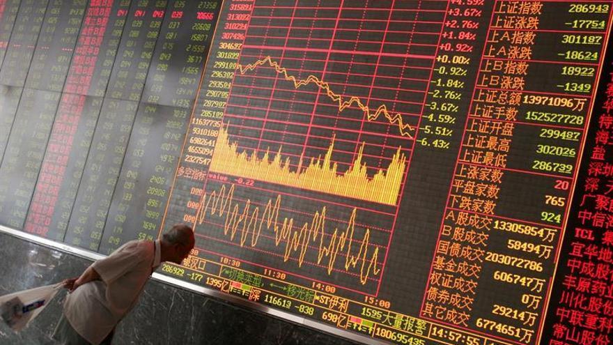 La Bolsa de Shanghái abre en verde y crece el 0,13 %