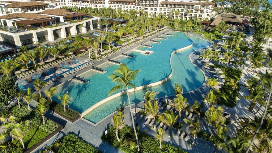 Imagen del vídeo promocional de Lopesan en Punta Cana
