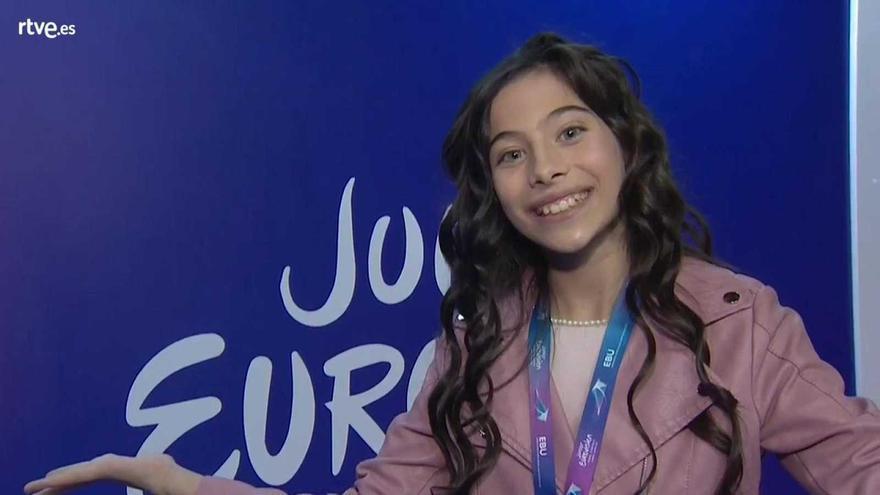 """Melani tras quedar 3ª en Eurovisión Junior 2019: """"Estaba pensando en disfrutar y me daba igual ganar o no"""""""