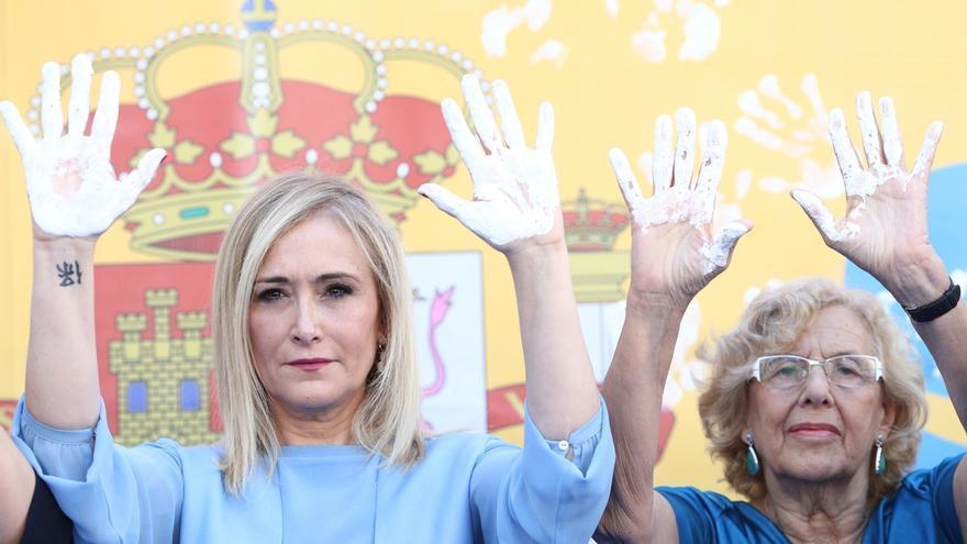 """Cifuentes rechaza los abucheos a Carmena en el homenaje a Miguel Ángel Blanco y reivindica la """"unidad"""" frente al terror"""
