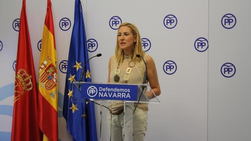 """Beltrán (PPN) dice que """"el Gobierno foral quiere engañar al Ejecutivo central, a sus socios y a los navarros"""" con el TAV"""