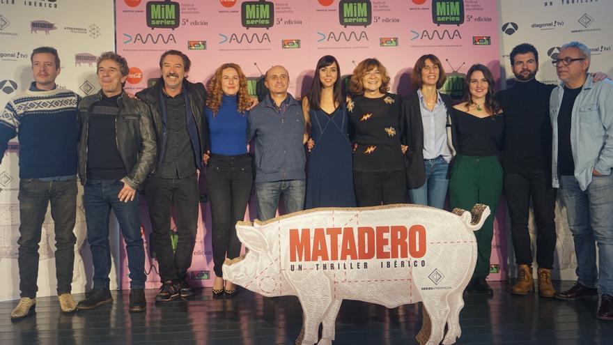 Equipo de 'Matadero' en el MiM Series 2017