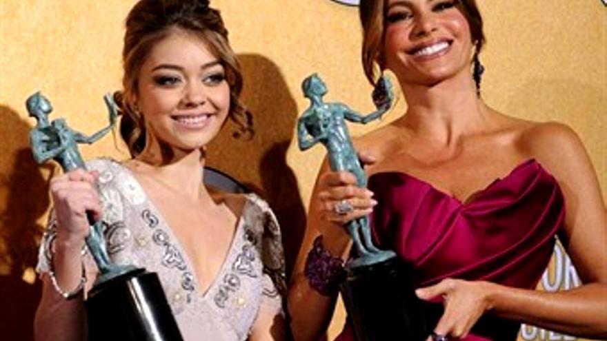 Los actores americanos reconocen a 'Modern Family' y 'Boardwalk Empire'