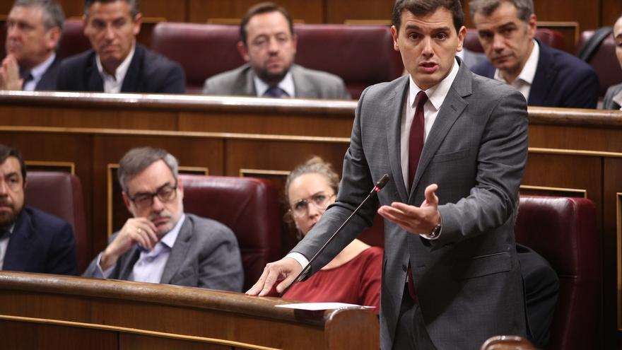 Ciudadanos presentará enmiendas en el Congreso para tratar de tumbar el cupo y el concierto vascos