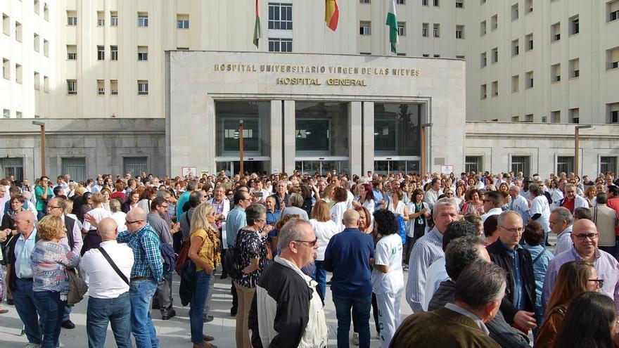 Juntas de Personal de los hospitales granadinos intensifican las protestas contra la reordenación hospitalaria