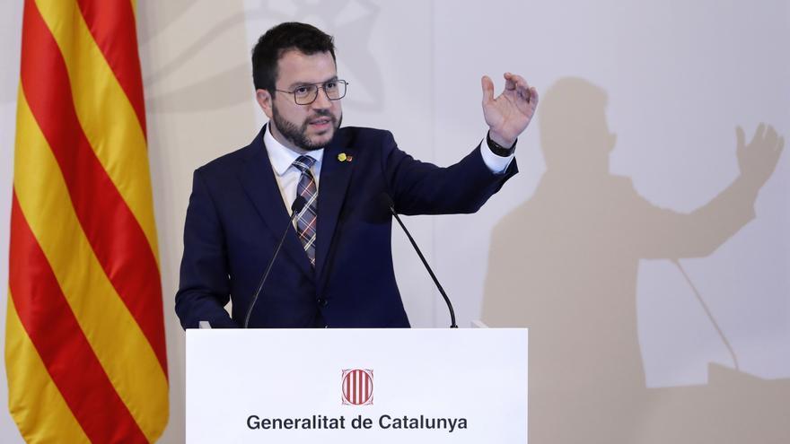 Aragonès: La salida de la crisis no debe impedir abordar el conflicto catalán