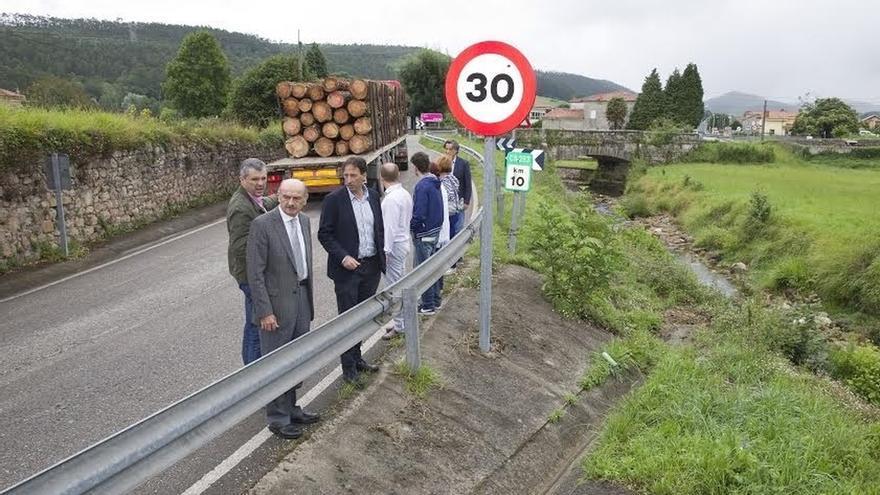 La mejora de la carretera Ibio-Herrera de Ibio costará 897.000 euros y empezará a finales de año