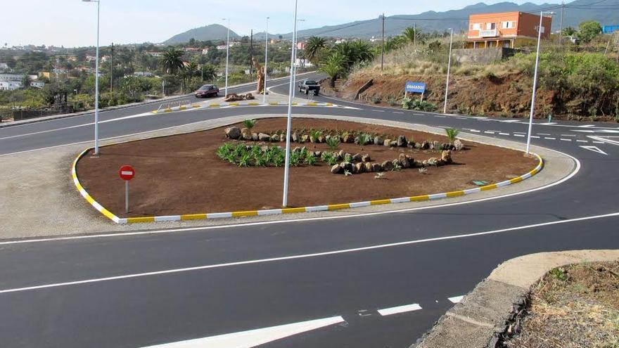 En la imagen, nuevo cruce de El Molino, inaugurado el pasado 30 de marzo.
