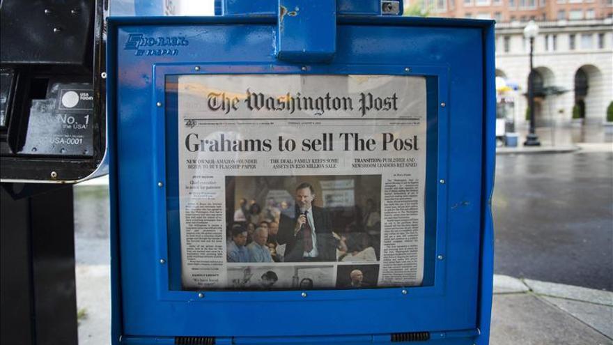 Las acciones del Washington Post tocan su mayor cota en 5 años tras la venta a Bezos. / Efe