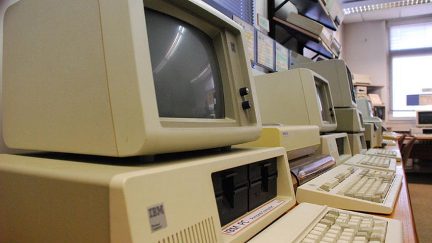 El IBM-PC de Agosto de 1981 (Foto: medienzeitmaschine   Flickr)