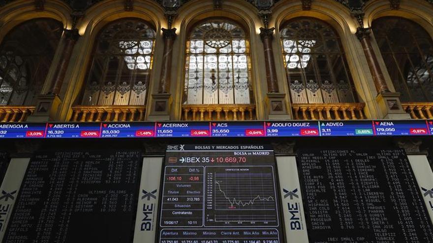 El IBEX 35 mantiene las ganancias tras la apertura y sube un 0,87 por ciento