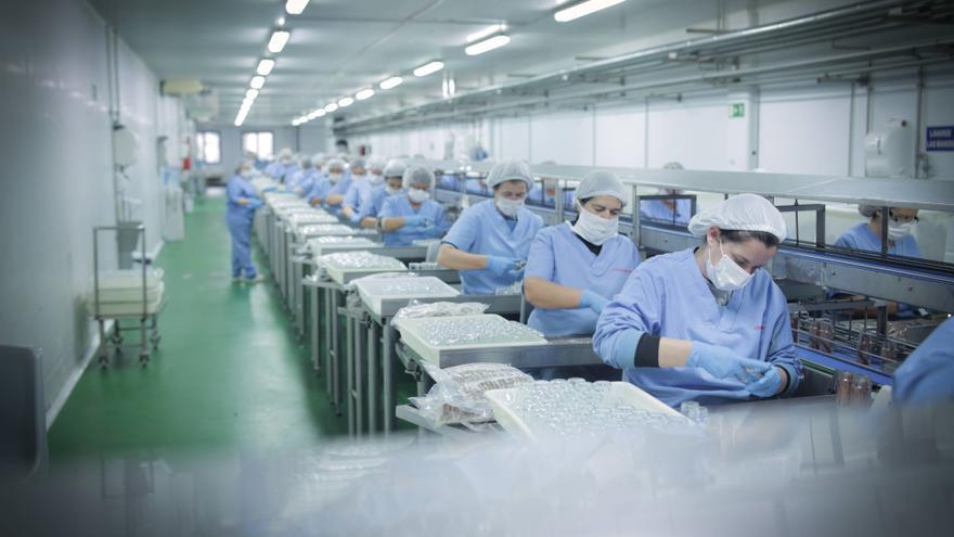 Trabajadoras del Grupo Consorcio