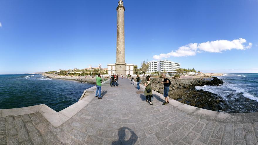Faro de Maspalomas.