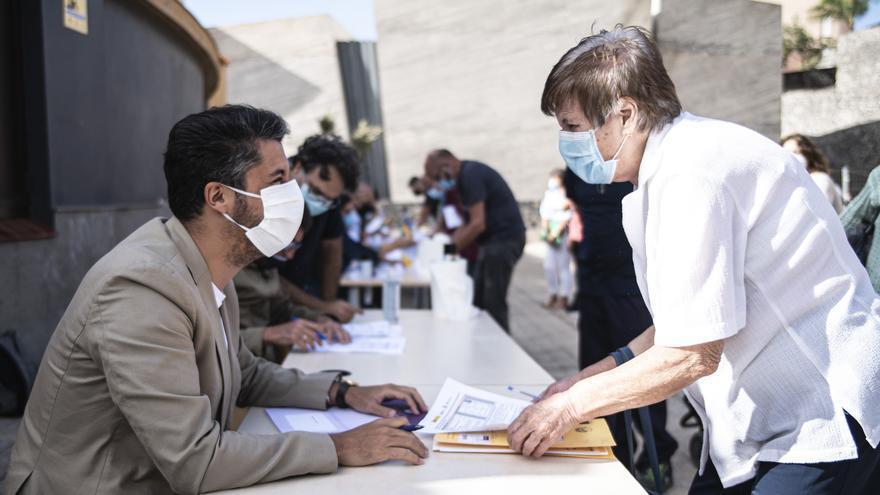 Satisfacción de los afectados al formalizarse la ocupación del suelo para la reposición de viviendas en Las Chumberas