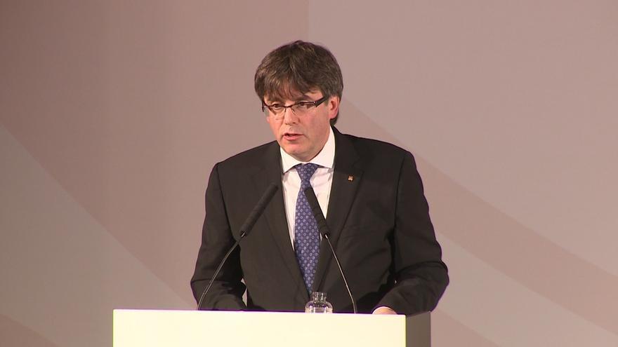 """Puigdemont: """"No podré aceptar de ninguna manera una suspensión de mis atribuciones"""""""