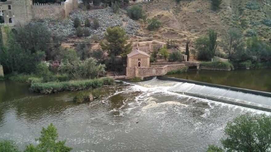 El Tajo a su paso por Toledo en este 19 de junio de 2017