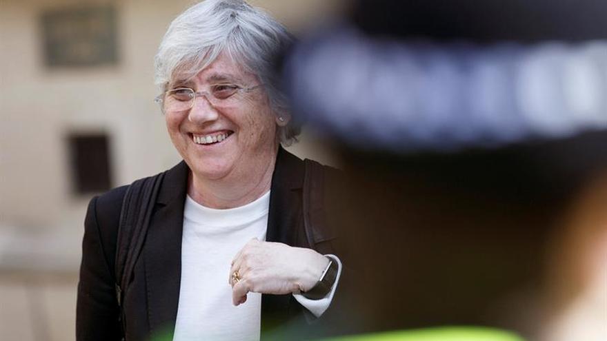 """Reino Unido rechaza tramitar la euroorden contra Ponsatí por """"desproporcionada"""""""