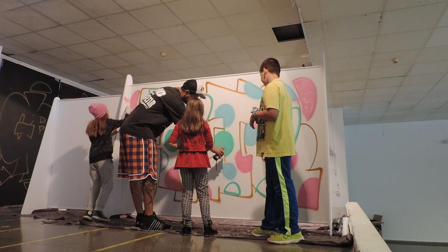 La Feria de Arte Liberarte es la cita con los artistas palmeros.