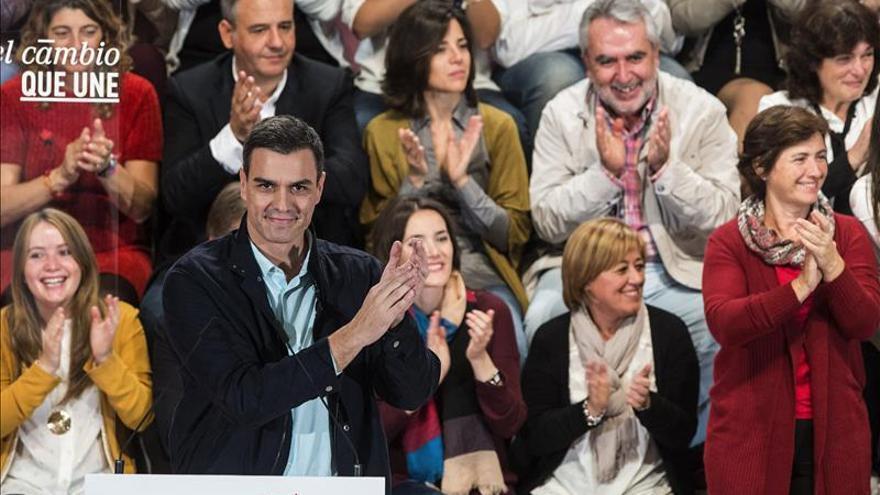 Pedro Sánchez dice que el balance de Rajoy es paro, desigualdad y corrupción