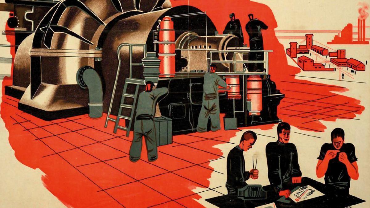 En las primeras utopías socialistas, las máquinas servían como instrumento de mejora de las condiciones de vida de los trabajadores