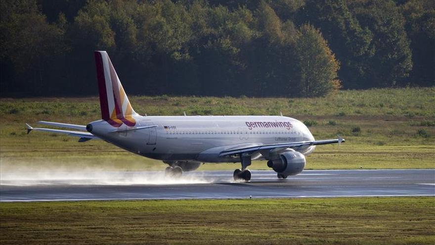 Foto de archivo del avión siniestrado.