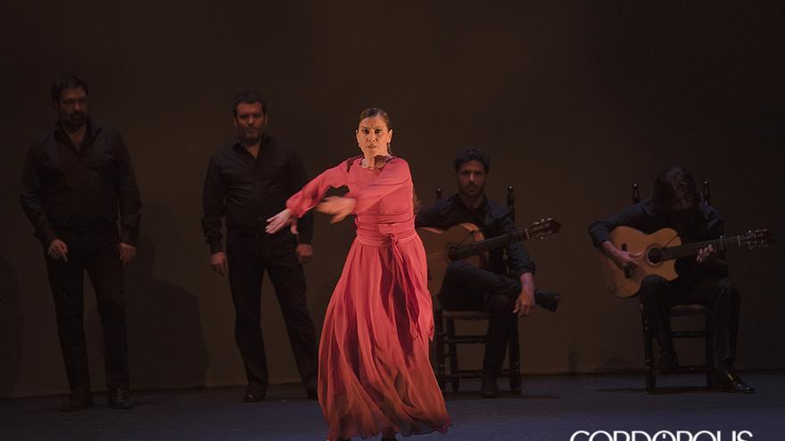 Rafaela Carrasco anoche en el Gran Teatro | TONI BLANCO