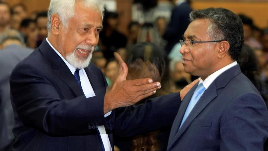 El nuevo Parlamento de Timor Oriental jura sus cargos