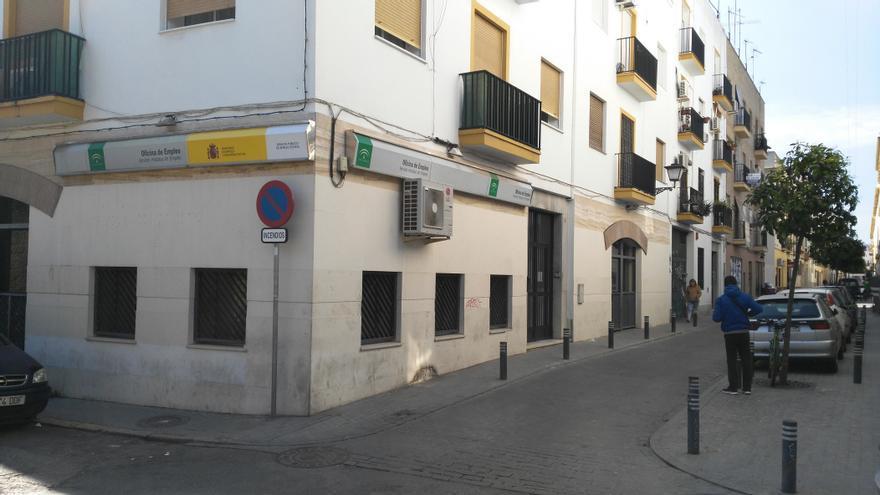 Oficina del Servicio Andaluz de Empleo (SAE) en Sevilla.