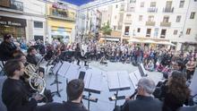 Concierto de la Orquesta de València en la Plaza Lope de Vega