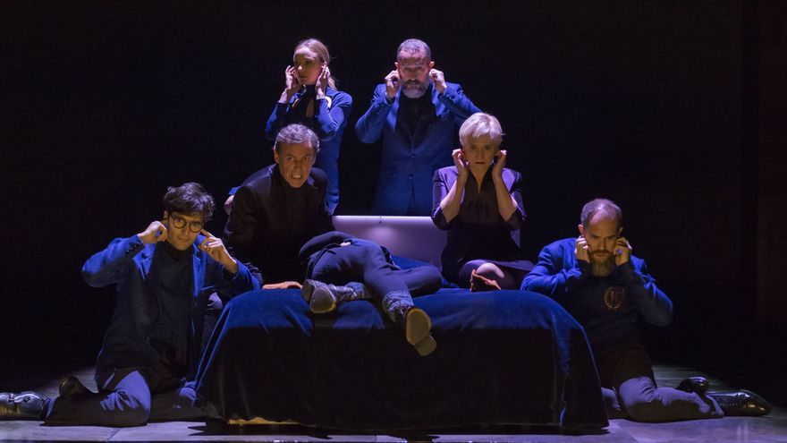 Escena de 'Hamlet', de la compañía Kamikaze. Foto: Alberto Nevado