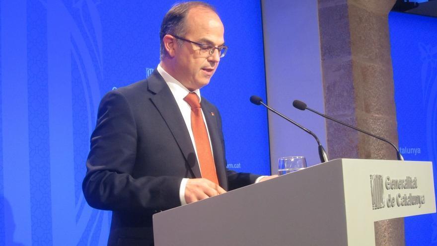 Jordi Turull, portavoz del Govern.