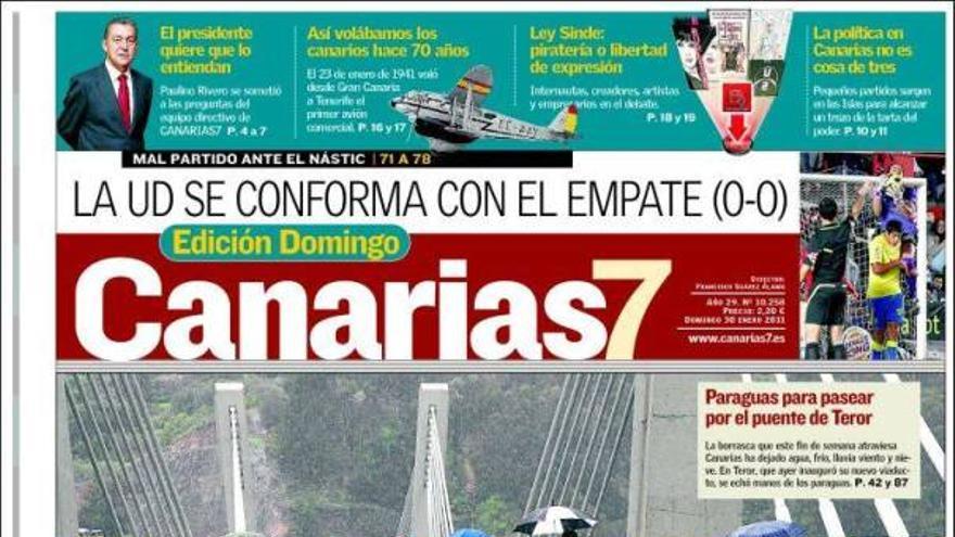 De las portadas del día (30/01/2011) #1